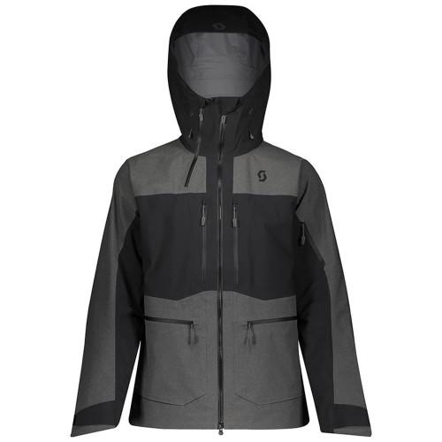 Geaca Ski Barbati Scott Vertic Gtx 3L Stretch Black/Dark Grey Melange