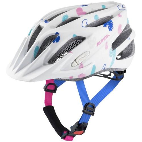 Casca Ciclism Alpina Fb Jr. 2.0 LE White/Hearts Matt Multicolor