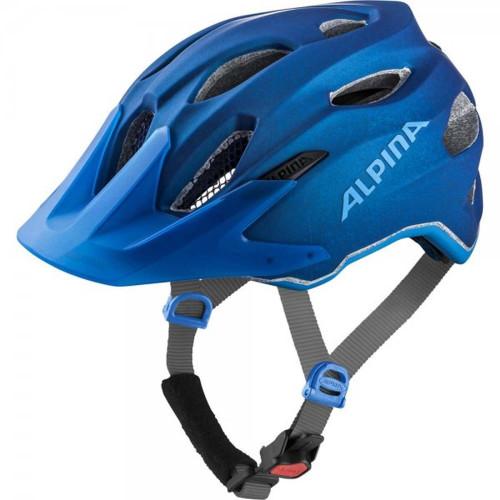 Casca Ciclism Alpina Carapax Jr. Blue Albastru