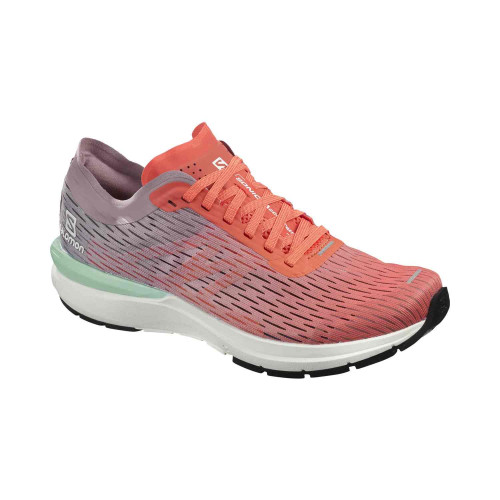 Pantofi Alergare Femei Salomon  Sonic 3 Accelerate W Camellia/Wh/Q
