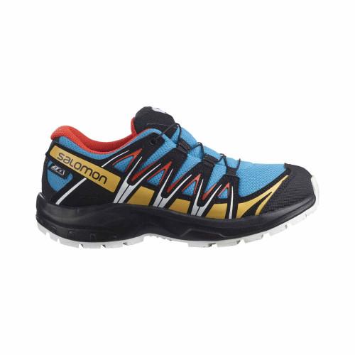 Salomon Pantofi Alergare Copii XA PRO 3D CSWP J Albastru