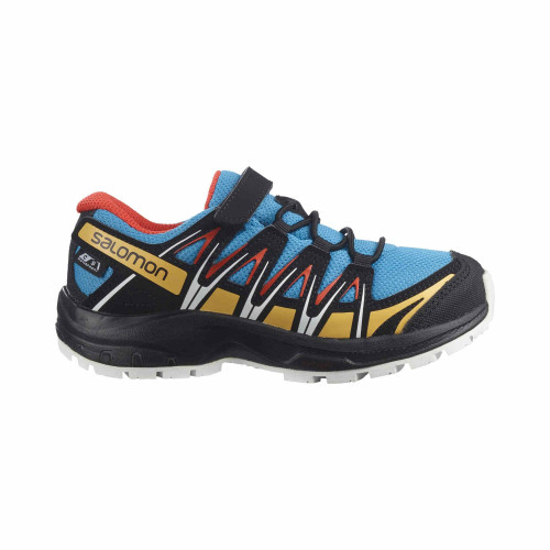Salomon Pantofi Alergare Copii XA PRO 3D CSWP K Albastru