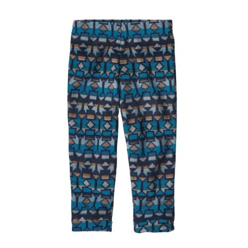 Pantaloni Polar Copii 0-5 ani Patagonia Baby Micro D Bottoms Balkan Blue