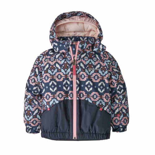 Geaca Ski Copii 0-5 ani Patagonia Baby Snow Pile Rosebud Pink