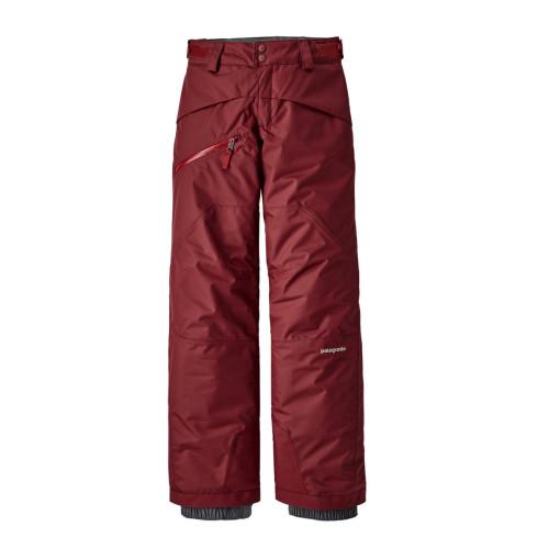 Pantaloni Ski Copii 5-14 ani Patagonia Boys' Snowshot Pants Oxide Red