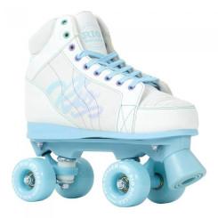 Patine Cu Rotile Copii Rio Roller Lumina White/Blue (Alb) Patine Cu Rotile Copii Rio Roller Lumina White/Blue (Alb)