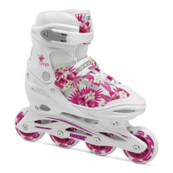 Role Copii Roces Compy 9.0 White/Pink/Violet (Multicolor) Role Copii Roces Compy 9.0 White/Pink/Violet (Multicolor)