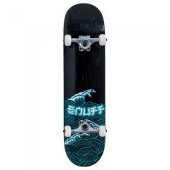 Skateboard Enuff Big Wave/Blue 32x8 inch Multicolor