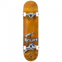 Skateboard Enuff Big Wave Brown/Silver 32x8 inch Maro Skateboard Enuff Big Wave Brown/Silver 32x8 inch Maro