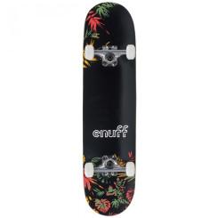 Skateboard Enuff Floral 31.5x7.75 inch Portocaliu Skateboard Enuff Floral 31.5x7.75 inch Portocaliu