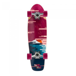 Cruiser Mindless Sunset Red/Blue 28x7.75 inch Multicolor