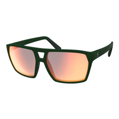 Ochelari Soare Casual Unisex Scott Tune Iris Green/Red Chrome Enhancer (Verde) Ochelari Soare Casual Unisex Scott Tune Iris Green/Red Chrome Enhancer (Verde)