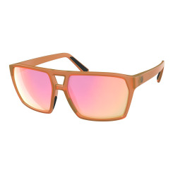 Ochelari Soare Casual Unisex Scott Tune Translucent Orange/Pink Chrome (Portocaliu) Ochelari Soare Casual Unisex Scott Tune Translucent Orange/Pink Chrome (Portocaliu)