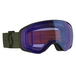 Ochelari Ski Unisex Scott Vapor Kaki Green/Illuminator Blue Chrome Ochelari Ski Unisex Scott Vapor Kaki Green/Illuminator Blue Chrome