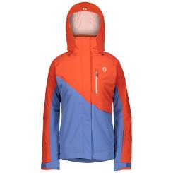 Geaca Ski Femei Scott Ultimate Dryo 10 Grenadine Orange/Riverside Blue Geaca Ski Femei Scott Ultimate Dryo 10 Grenadine Orange/Riverside Blue
