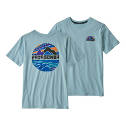 Tricou Drumetie Copii Patagonia Boys' Graphic Organic T-Shirt Fitz Roy Rights: Big Sky Blue Tricou Drumetie Copii Patagonia Boys' Graphic Organic T-Shirt Fitz Roy Rights: Big Sky Blue