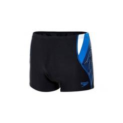 Boxeri inot Barbati Speedo Logo Curve Bleumarin / Albastru / Alb Boxeri inot Barbati Speedo Logo Curve Bleumarin / Albastru / Alb