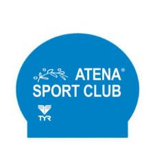 Casca Inot TYR Silicone Swim Cap Atena Sport Club Casca Inot TYR Silicone Swim Cap Atena Sport Club