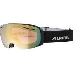 Ochelari Schi si Snowboard Alpina Granby QVMM black matt/lightgold sapphire Ochelari Schi si Snowboard Alpina Granby QVMM black matt/lightgold sapphire