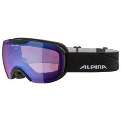 Ochelari Schi si Snowboard Alpina Pheos S black matt QVMM blue Ochelari Schi si Snowboard Alpina Pheos S black matt QVMM blue