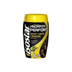 Pudra Izotonica Isostar Hydrate & Perform Lemon 400G Pudra Izotonica Isostar Hydrate & Perform Lemon 400G