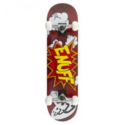 Skateboard Enuff Pow red 31x7.75 inch Rosu Skateboard Enuff Pow red 31x7.75 inch Rosu