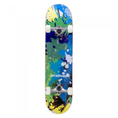 Skateboard Enuff Splat/Blue 31.5x7.75 inch Multicolor