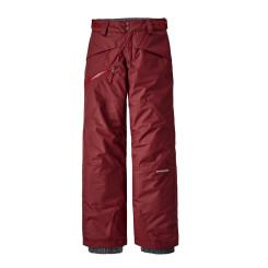 Pantaloni Ski Copii 5-14 ani Patagonia Boys' Snowshot Pants Oxide Red Pantaloni Ski Copii 5-14 ani Patagonia Boys' Snowshot Pants Oxide Red