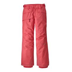 Pantaloni Ski Copii 5-14 ani Patagonia Girls' Snowbelle Pants Range Pink