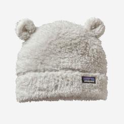 Caciula Copii Patagonia Baby Furry Friends Hat Birch White Caciula Copii Patagonia Baby Furry Friends Hat Birch White